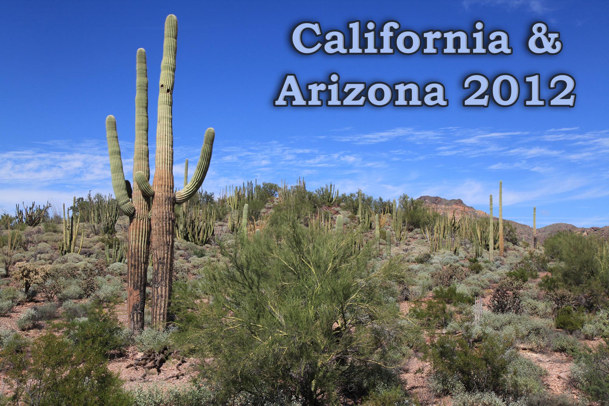 California Arizona 2012