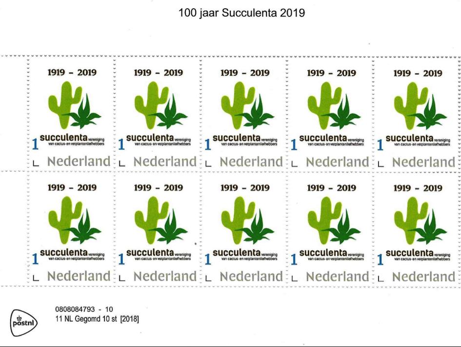 Postzegels 2019