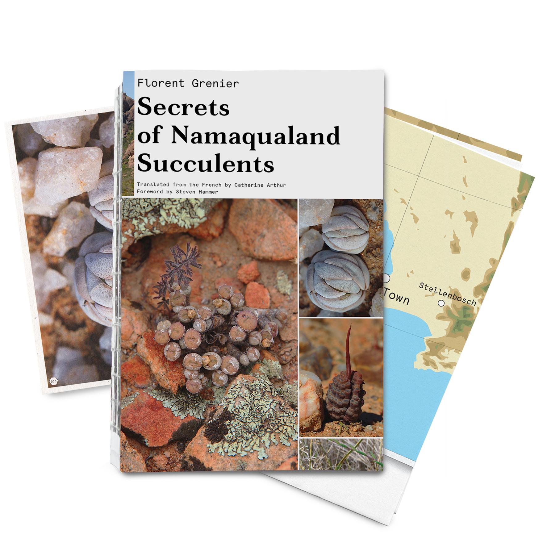 Nieuw Boek: Secrets Of Namaqualand Succulents