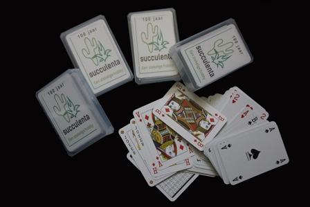 Speelkaarten Met Succulenta Logo