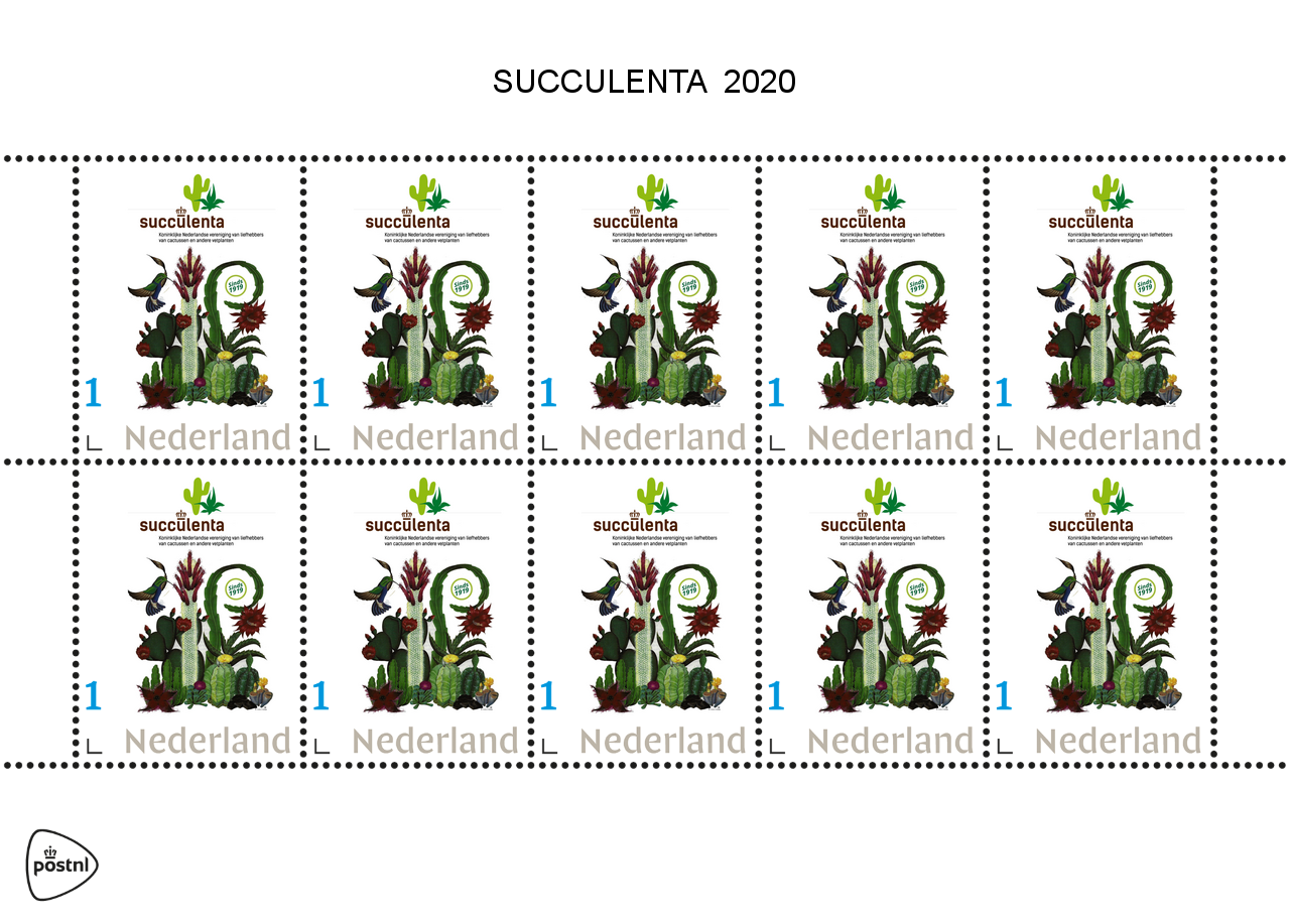 Postzegels 2020